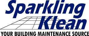 Sparkling Klean logo. Nebraska nd Iowa office (commercial) and Home (residential) cleaning service for Nebraska and Iowa