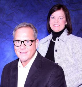 Gary and Diane Wieker, owners of Sparkling Klean home and office cleaning service in Omaha